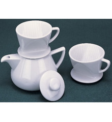 Porcelain Drip Coffee Maker
