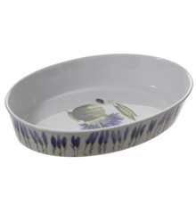 Pillivuyt Porcelain Garrigue Oval Baker