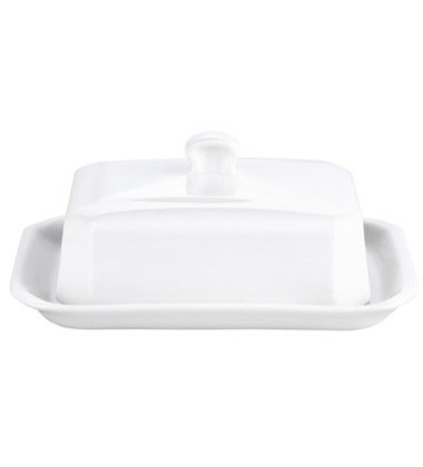 Porcelain Covered Butter Dish