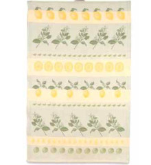 Citrus Theme Swedish Tea Towel