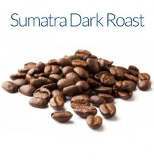 Sumatra Dark Roast Coffee Beans