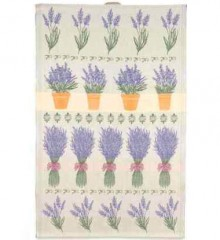 Lavender Theme Swedish Tea Towel