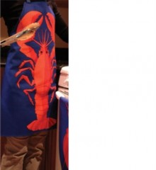 Apron with Lobster Theme