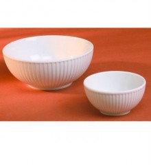 Pillivuyt Plisse Porcelain Serving Bowl