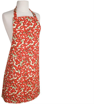 Now Designs Apron with Chilies