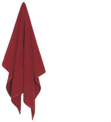 Now Designs Ripple Towel-Carmine