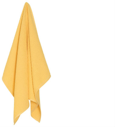 Now Designs Ripple Towel-Lemon