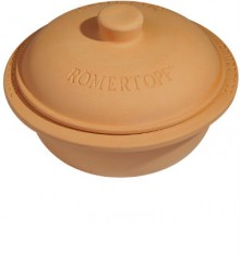 Romertopf 99170 Round Clay Dutch Oven