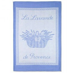 Coucke La Lavande Tea Towel