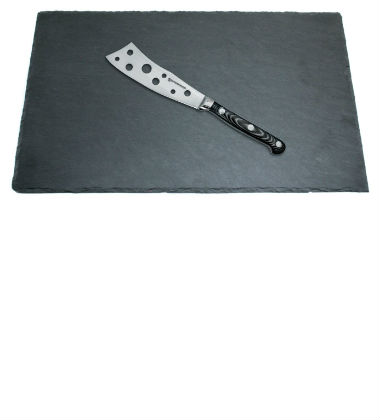 Slate Serving Board with Cheese Knife