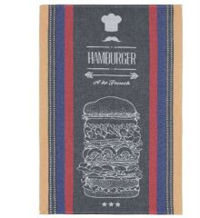 Coucke Hamburger Tea Towel