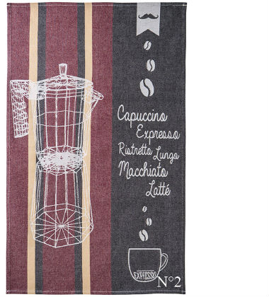 Coucke Coffee Theme Tea Towel