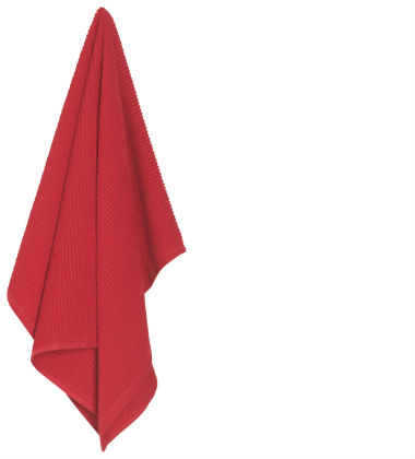 Now Designs Ripple Towel-Red