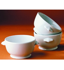 Porcelain Classic Onion Soup Bowl