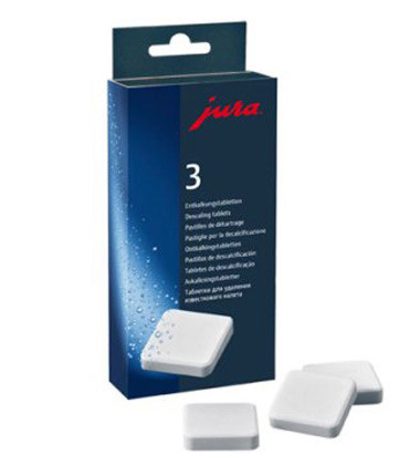 Descaling Tablets for Jura Coffee Center