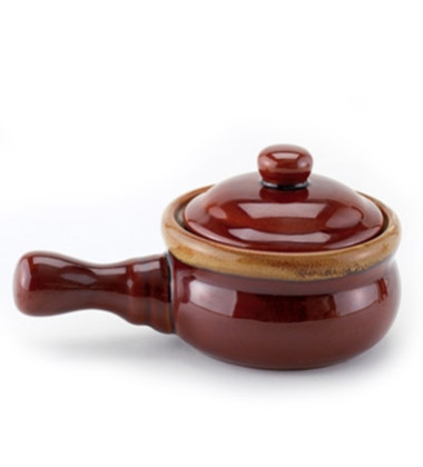 Onion Soup Crock with Lid