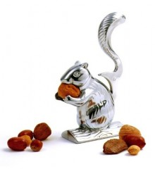 Nutty Squirrel Nutcracker