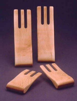 Maple Salad Serving Hands