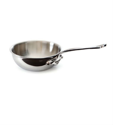 Mauviel Stainless Steel Splayed Saucepan