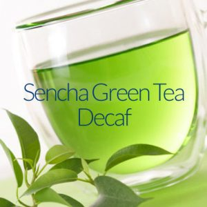 Sencha Organic Green Decaffeinated Tea